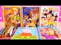 Speed Coloring Toys Scooby Doo, Beauty & the Beast, Tsum Tsum, Princesses, Peppa Pig | SWTAD