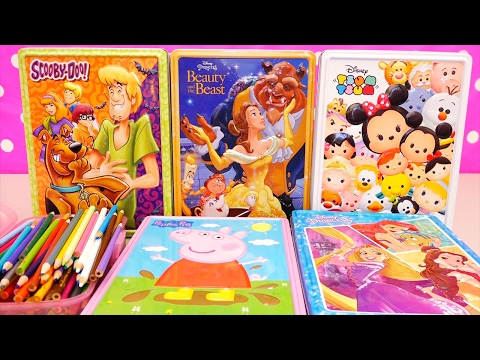 Speed Coloring Scooby Doo, Beauty & The Beast, Peppa Pig, And More Fun Activities For Kids