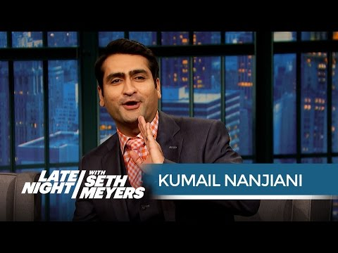 Kumail Nanjiani Regrets Some of His Funniest Silicon Valley Lines - Late Night with Seth Meyers