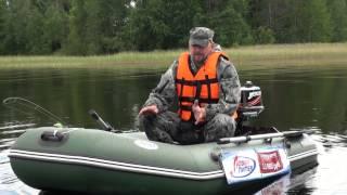 Обзор и тест: лодка ПВХ Аква 2800