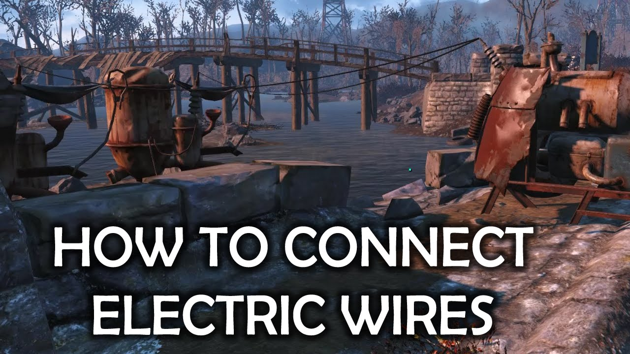 maxresdefault fallout 4 how to connect electrical wires youtube fallout 4 how to make a fuse box at eliteediting.co