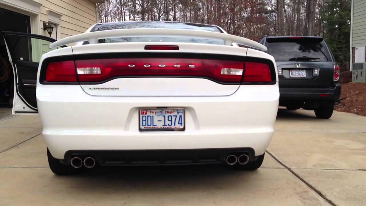 2011 Dodge Charger V6 Exhaust Youtube