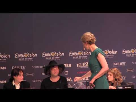 ESCKAZ in Stockholm: Second Semi Final Winners press conference