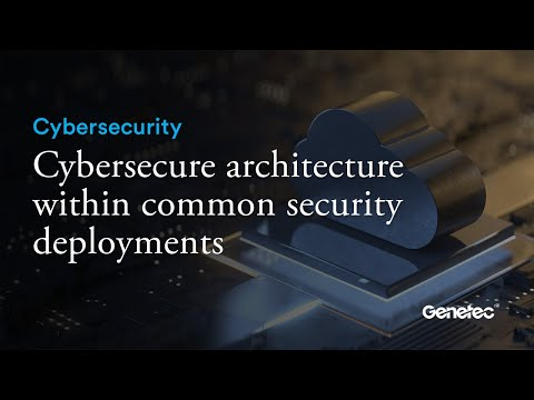 Cybersecurity - Cybersecure architecture with security deployments