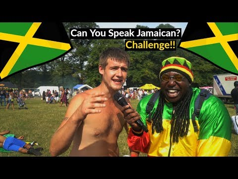 Can You Speak Jamaican ? - (Accent Challenge) Ep. 2 (Leicester Caribbean Carnival 2018)