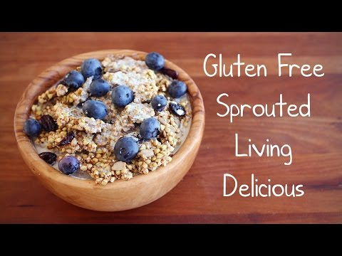 DIY: RAW SPROUTED BUCKWHEAT GRANOLA! (The best healthy snack ever)