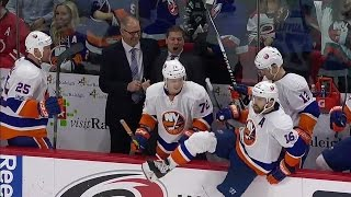 ICYMI: Coach Weight animated after Tavares scores OT winner