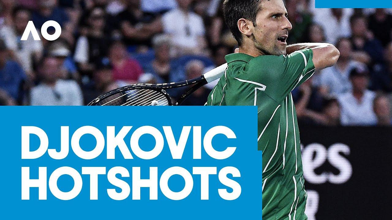 Novak Djokovic hotshots | AO2020