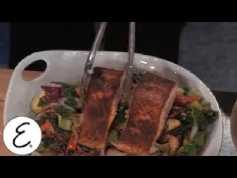 Seared Salmon Stir Fry Recipe With Tim Gunn - Emeril Lagasse