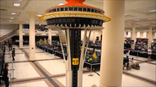 BrickCon2012 - Seattle Space Needle (BIG one)
