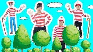 ★「リアルウォーリーを探せ!」ひめちゃんウォーリーが行方不明!?★Real Find Wally★ thumbnail