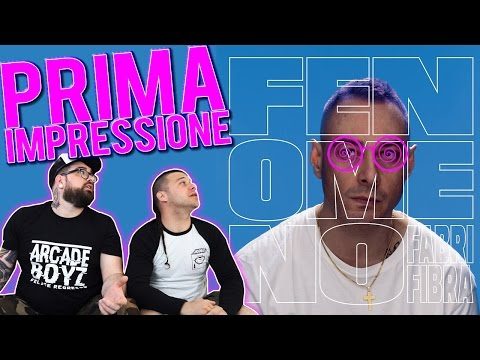 RAP REACTION | FABRI FIBRA - FENOMENO ( FULL ALBUM ) | ARCADEBOYZ | FIRST LISTEN