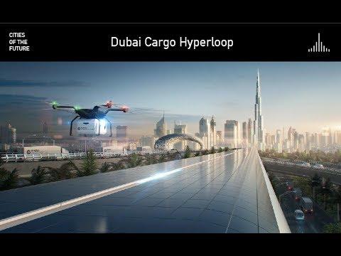 Dubai Cargo Hyperloop by Foster + Partners