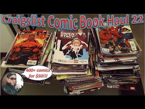 Craigslist Comic Book Haul 22 | 400+ Comics For $50!