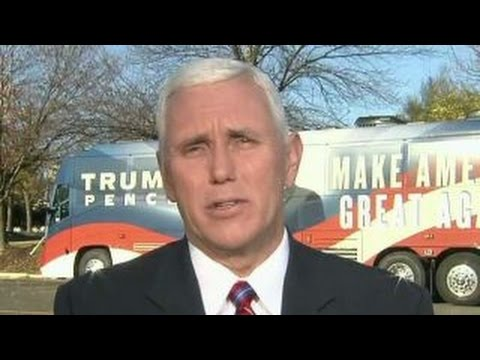 Gov. Mike Pence on final push for the White House