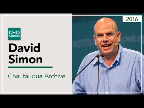 David Simon - Two Americas in One City