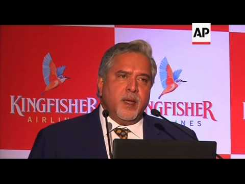 India's Struggling Kingfisher Airlines Posts Large Loss