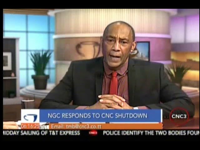 NGC Chairman Gerry C. Brooks responds to the CNC Shutdown Part 1/3