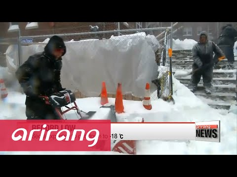 Severe cold wave freezes Korea and other parts of the world