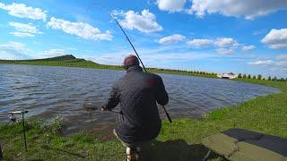 Поисковой Флэт Метод Фидер спас рыбалку Ловля карпа на флэт весной 2020 Рыбалка в Беларуси