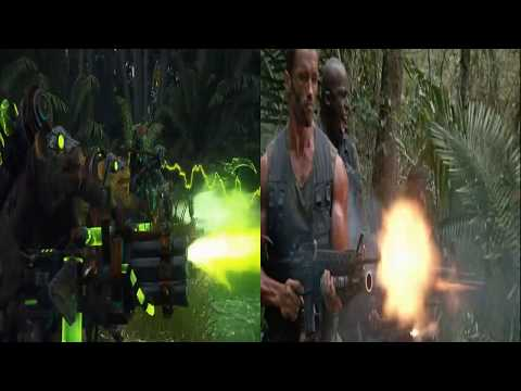 Prophet and the Warlock trailer side by side with Predator