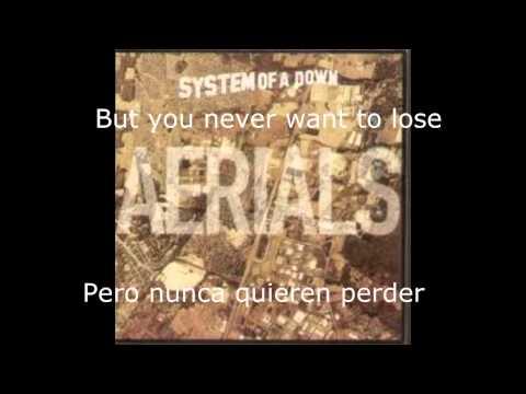 Sistem Of A Down Aerials - Lyrics/Letra