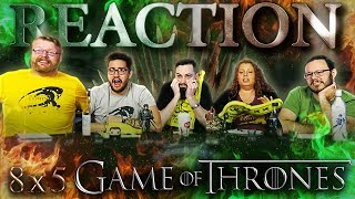 "Game of Thrones 8x5 REACTION!! ""The Bells"""