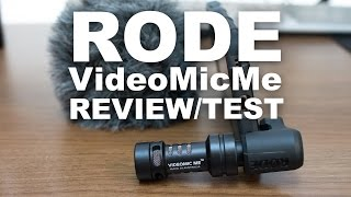 Rode VideoMic Me Review/Test