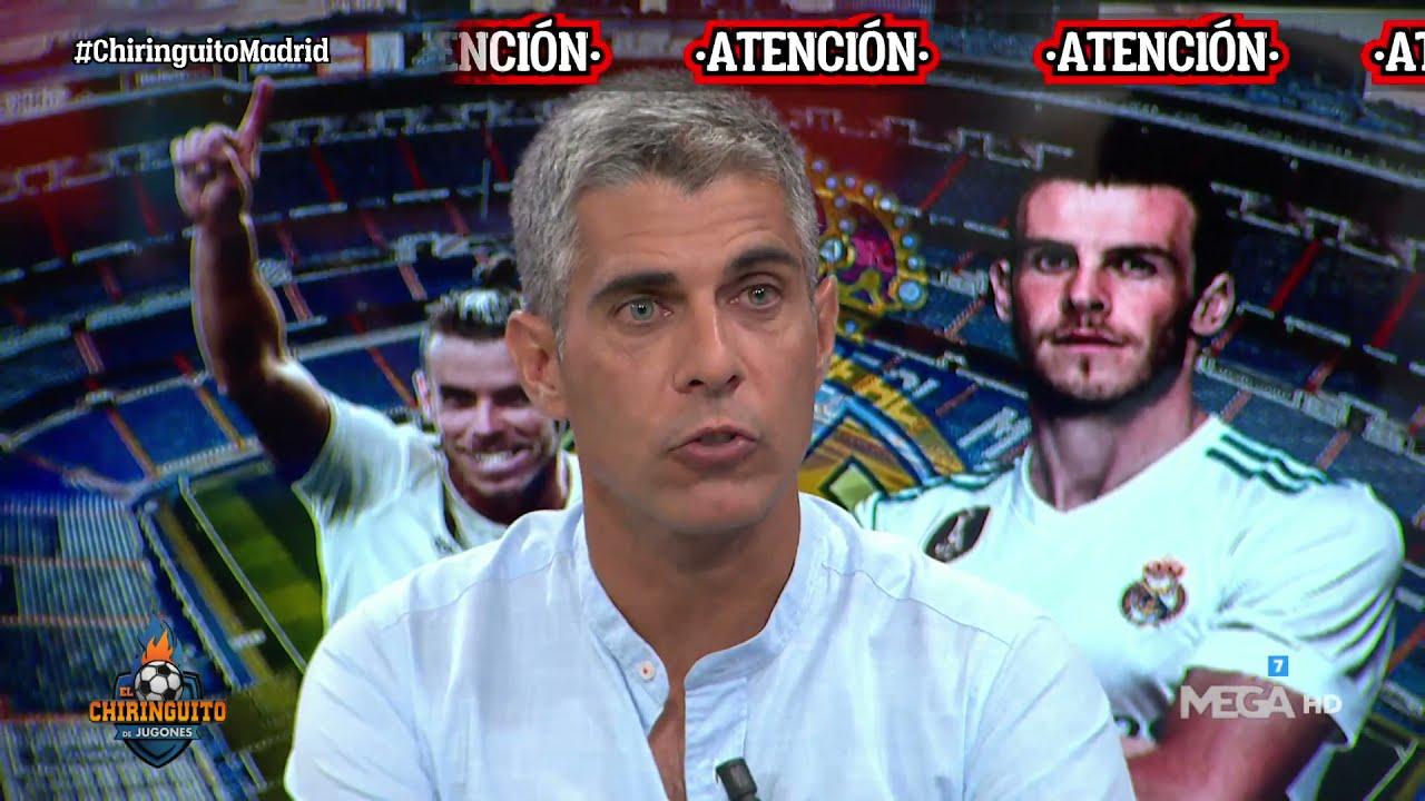 """💣💣""""La INTENCIÓN de BALE es QUEDARSE en el REAL MADRID"""", lo cuenta José Luis Sánchez"""