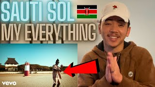 Sauti Sol - My Everything ft. India.Arie (Music Video) AMERICAN REACTION! Kenya Music