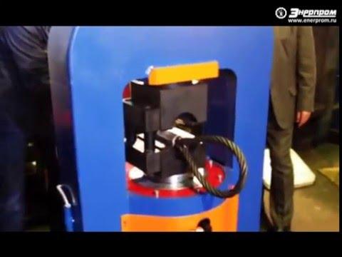 видео: Пресс для производства стропов adv-400e