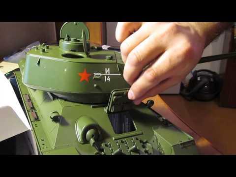 видео: Сборка модели танка Т-34-85