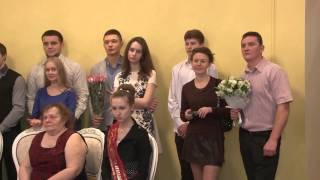 2015 12 23 - Тысячная пара зарегистрировала брак в Лобне (Лобня)