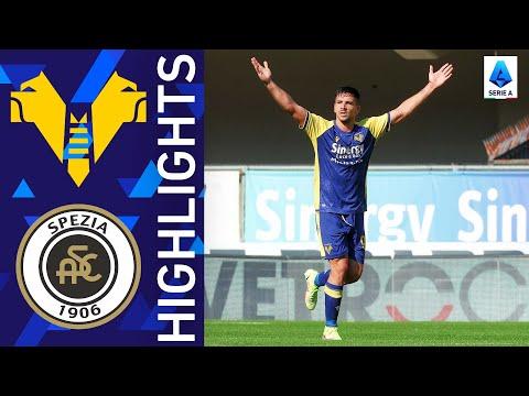 Helas Verona Spezia Goals And Highlights
