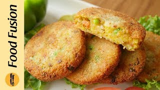 Mix Vegetable Kabab Recipe By Food Fusion