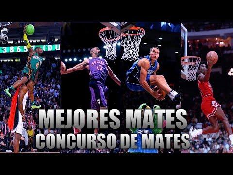 EL MEJOR MATE DE TODOS LOS CONCURSOS DE MATES NBA | Fichajes NBA