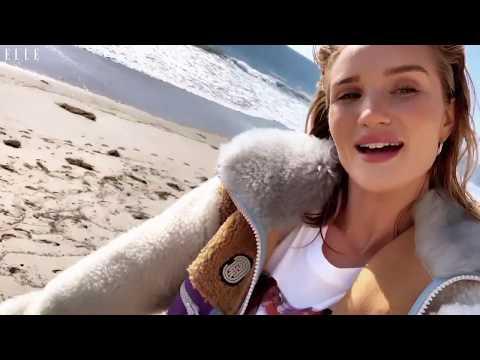Rosie Huntington-Whiteley | ELLE Behind The Scenes