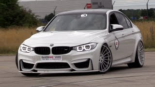 HAMANN BMW M3 F80 - Burning Rubber & DRAG RACING!