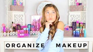 How To Organize Makeup - Tarte Cosmetics - Rosie McClelland
