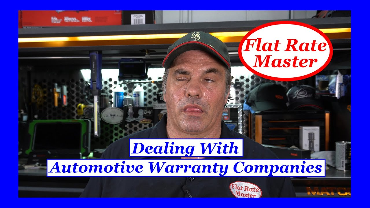 Dealing With Automotive Warranty Companies