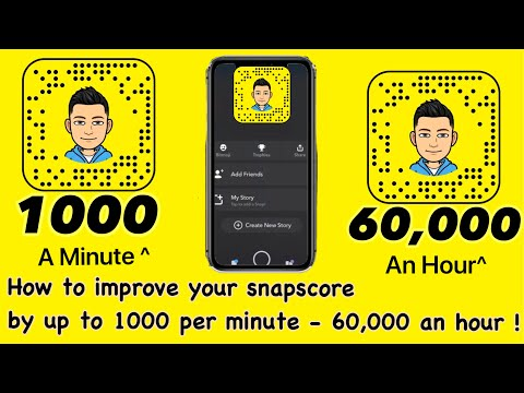 *2020 NEW * How To Increase Snapscore By Up To 1000 Per Minute On IOS And Android - Working 2020