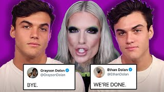 Dolan Twins KICK Jeffree Star Out Of Their Lives....