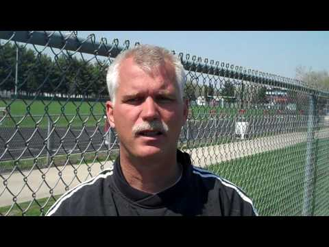 Macomb Softball Coach Steve Horrell (4/10/10).MP4