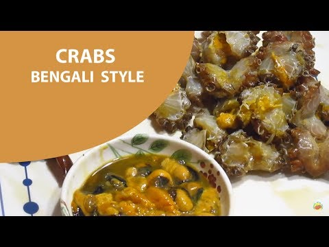 """Process of Cleaning the Crabs """"Bengali Style"""""""