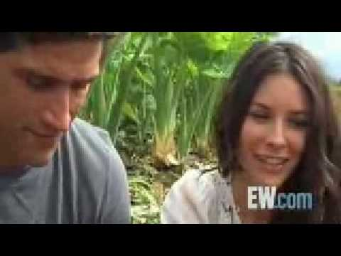 LOST Matthew Fox & Evangeline Lilly EW Interview