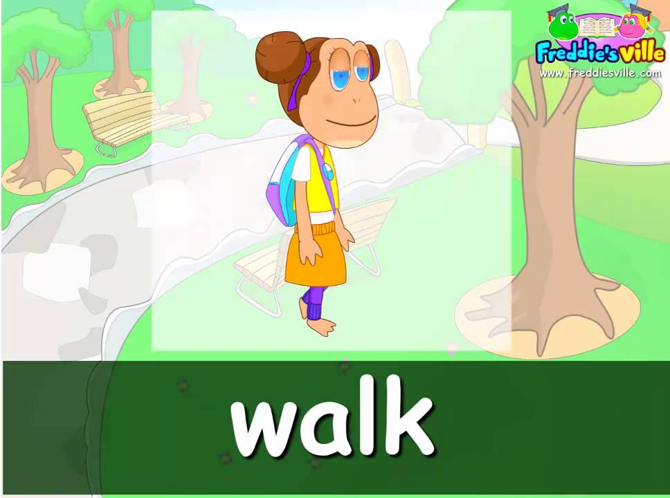 Actions Verbs Present Simple, English Lessons for Kids, ESL - YouTube