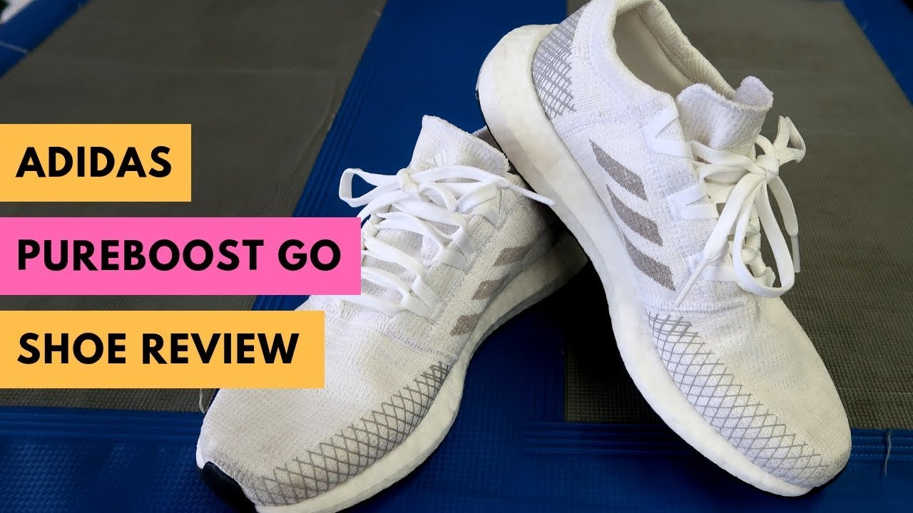 acantilado patata Vacunar  adidas PureBOOST Go Running Shoe Review - YouTube