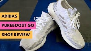 acantilado patata Vacunar  adidas PureBOOST Go Running Shoe Review - YouTube