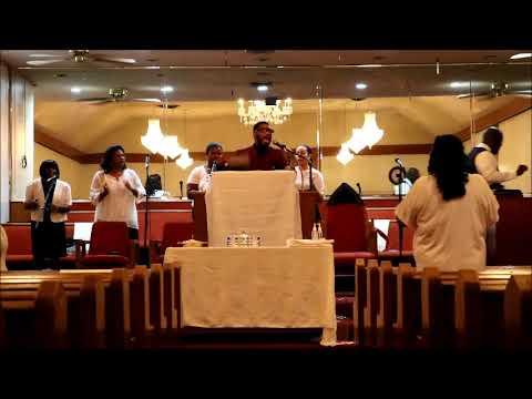 September 3rd 2017 Minister Dananoe Williams at Cedar Grove Baptist Church (Los Angeles CA.)