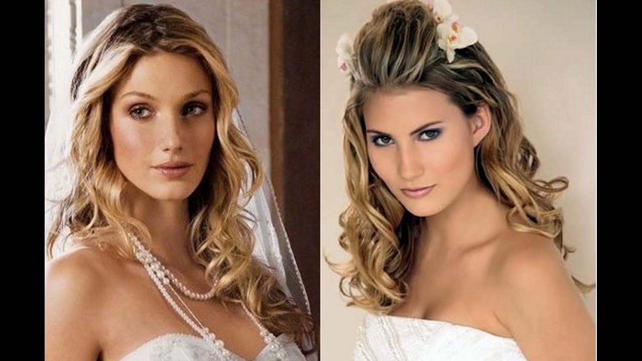 Frisur Ideen Für Lange Lockiges Haar Haarfarben Und Frisurentrends